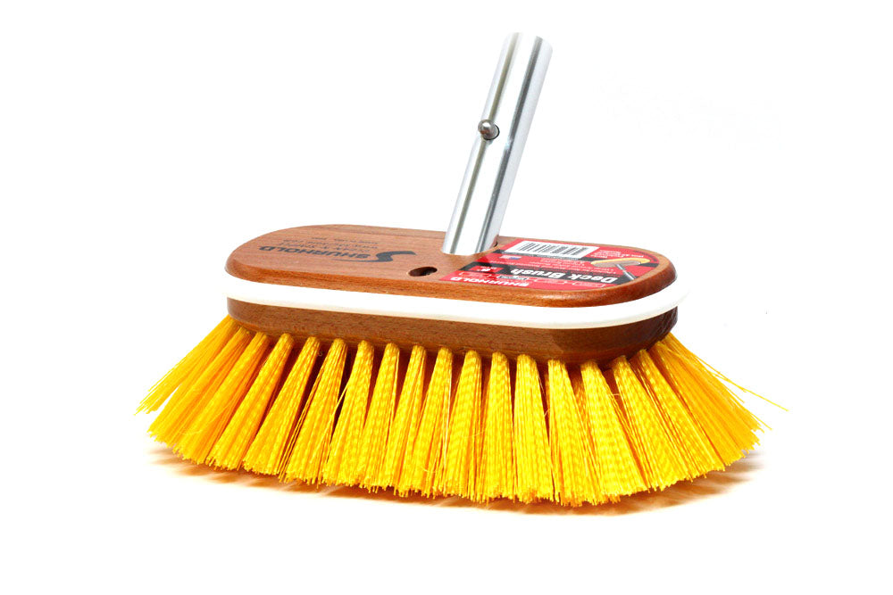 "Shurhold 955  6"" Medium-stiff Deck Brush"