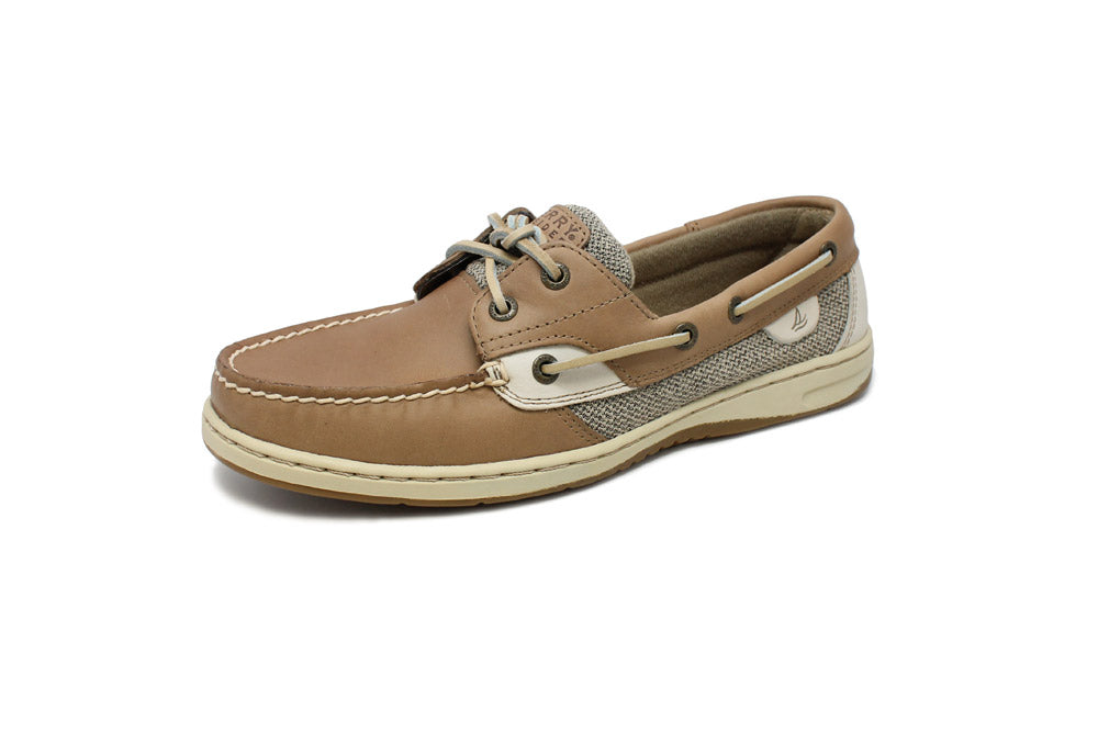 Sperry Women's Bluefish Classic Boat Shoe Linen/Oat