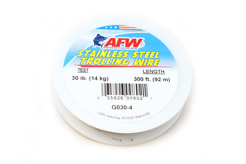 Stainless Trolling Wire 30 lb.Test/300'