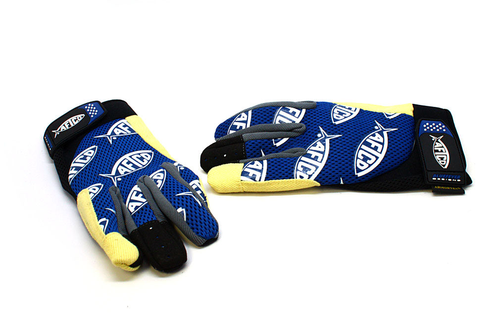 AFTCO Blue Fever Release Gloves
