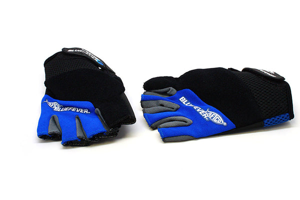 AFTCO Blue Fever Shortpump Gloves