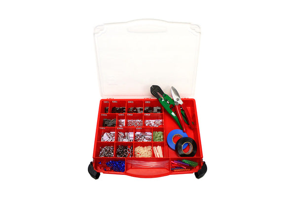 J&M Tackle Terminal Rigging Kit, Incl. Presser/Cutter/Case