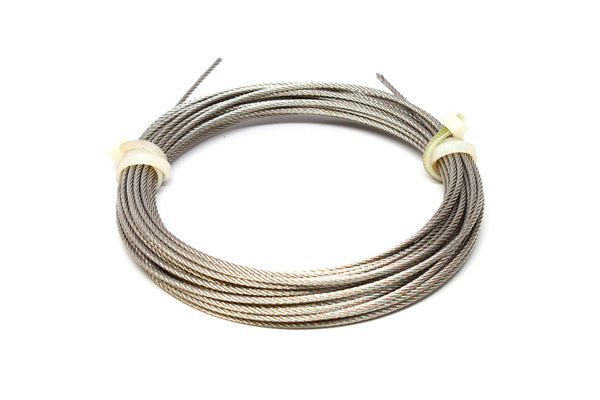 Stainless Cable 700lb 7x7 (49 Strand)-30'