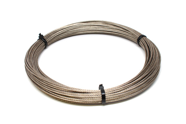 Stainless Cable, 1100lb 7x7 (49 Strand) - 100'