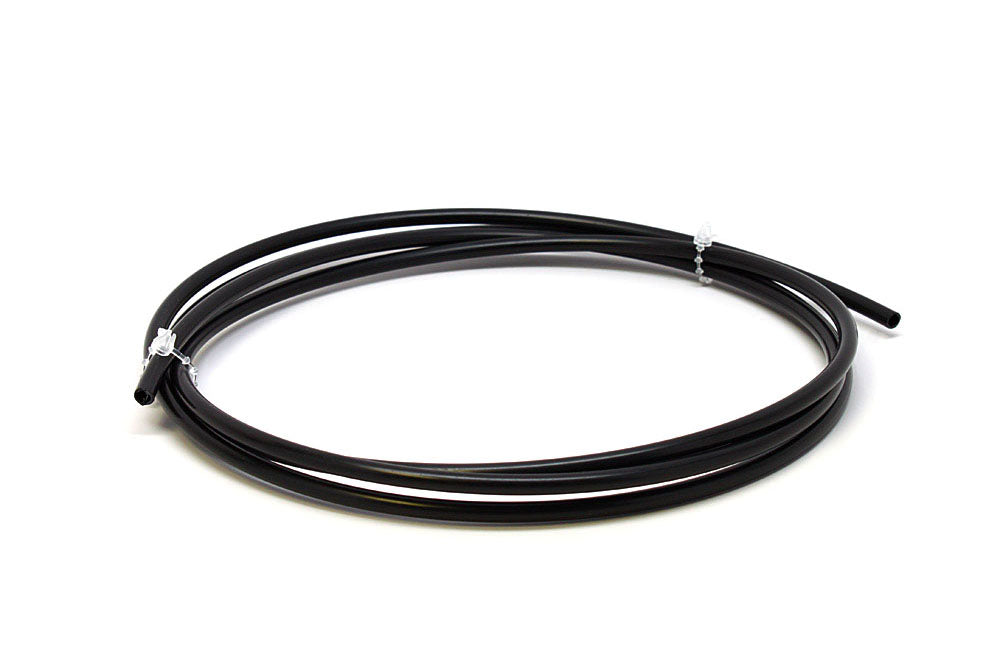 Anti-Chafe Tubing 2.3mm Size C, Solid Black Coil
