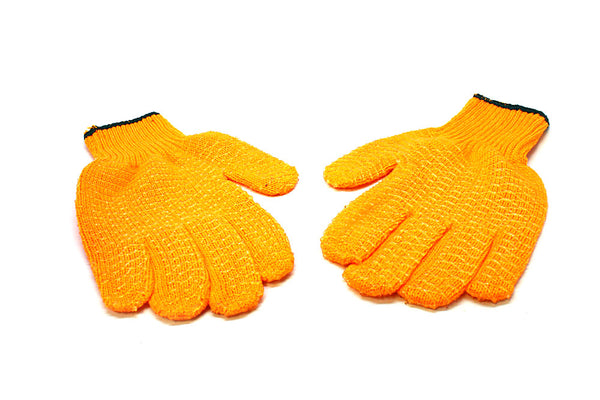Tuff-Grip Orange PVC Gloves