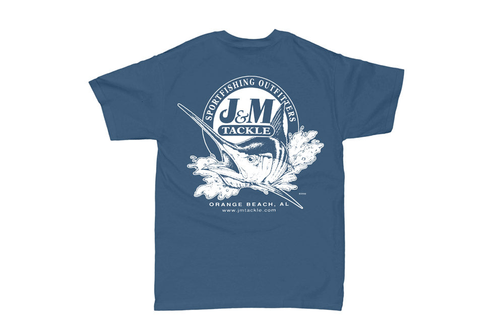 J&M Kid's Logo Pigment-Dyed Short Sleeve T-Shirt