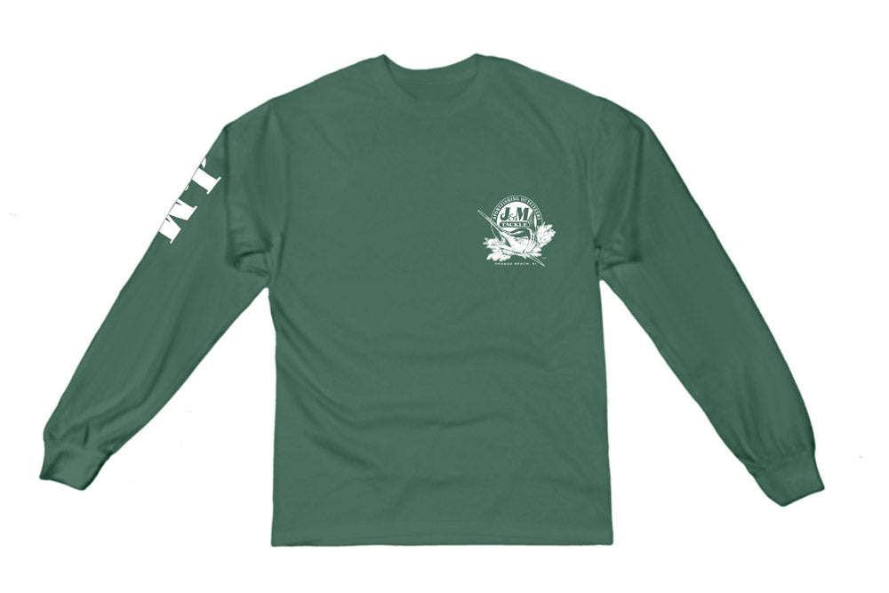 J&M Tackle Pigment Dyed Long Sleeve T-Shirt