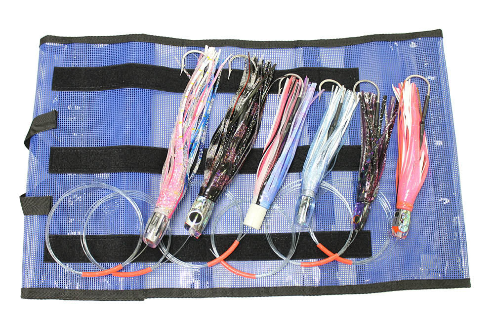J&M Tackle Small Billfish Kit, w/6 Pocket Bag
