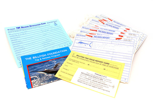 Billfish Foundation Tagging Kit, Supplemental Kit