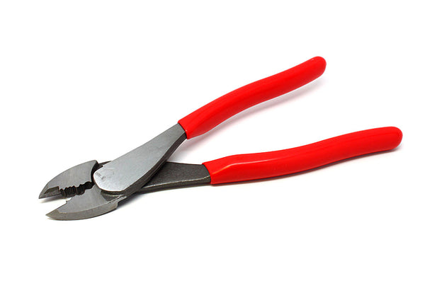 "9 1/2"" Crimping & Cutting Pliers for Single Barrel Crimps"