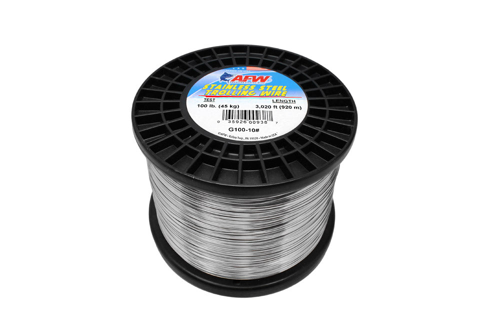 American Fishing Wire Stainless Trolling Wire 100# Approx 10lbs
