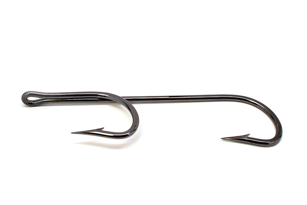 "QuickRig Double Trouble 10/0 ""0"" Deg Hook Rig Black Nickel"