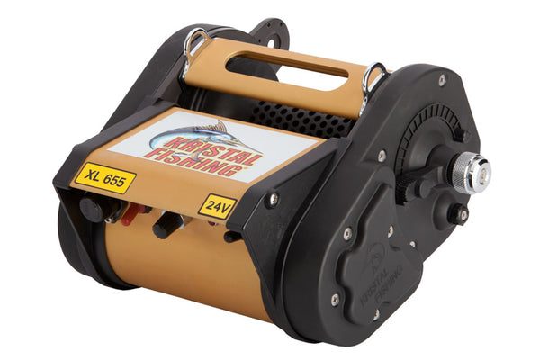 Kristal XL655 24 Volt Variable Speed Electric Reel