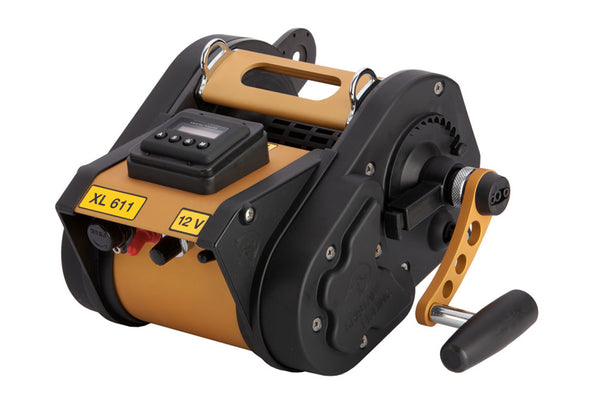 Kristal XL611DM Programable Electric Reel w/ Manual Override