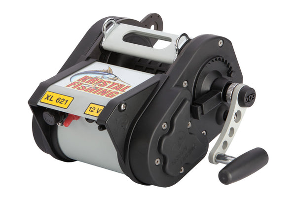 Kristal XL621M 12V Electric Reel w/Manual Override