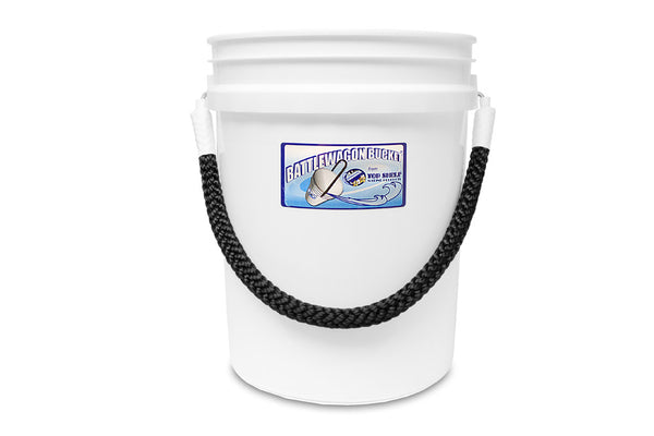 Battlewagon Bucket w/ Rope Handle - 5 Gallon