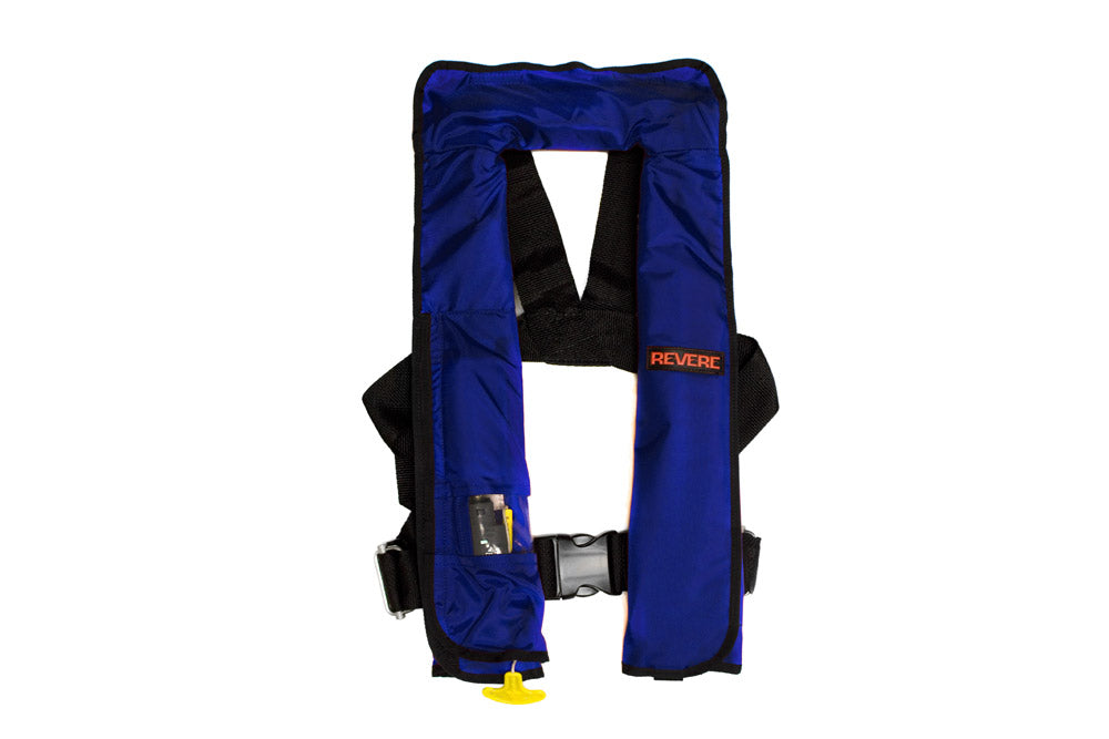 Revere Comfortmax Manual Inflatable PFD, Navy
