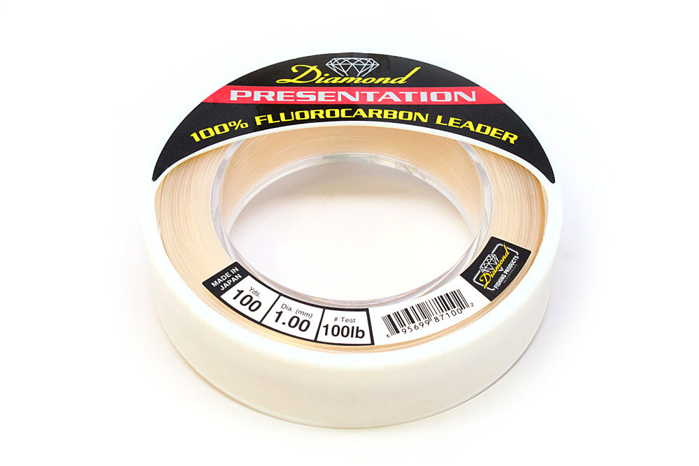 Diamond Fluorocarbon, 100 lb., 100 yds., Clear
