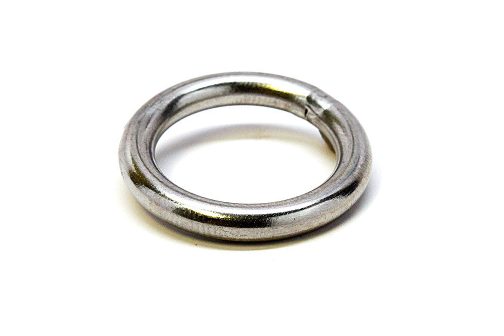 "Stainless Steel Ring, 1"" I.D."
