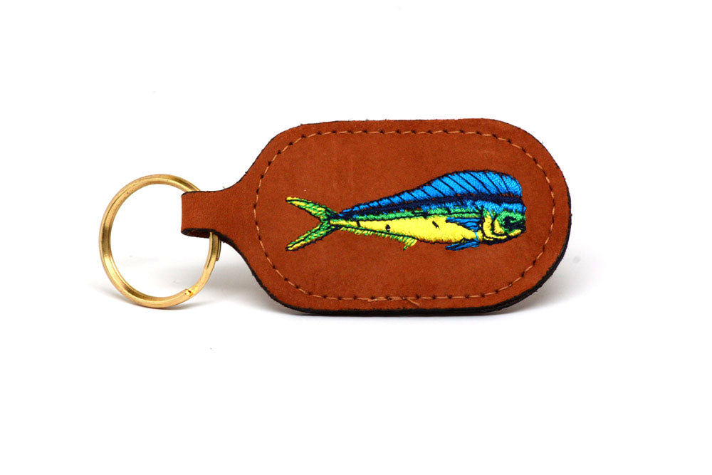 Zep Pro Key Chain, Embroidered, Dolphin