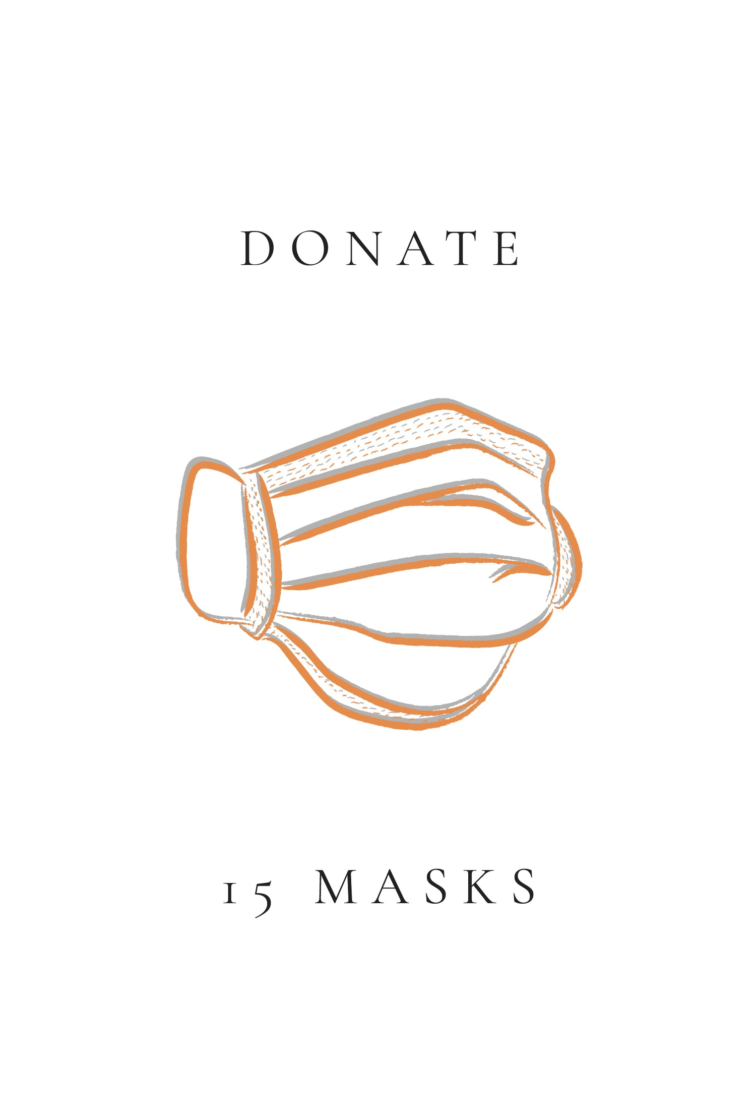 15 Face Mask Donation