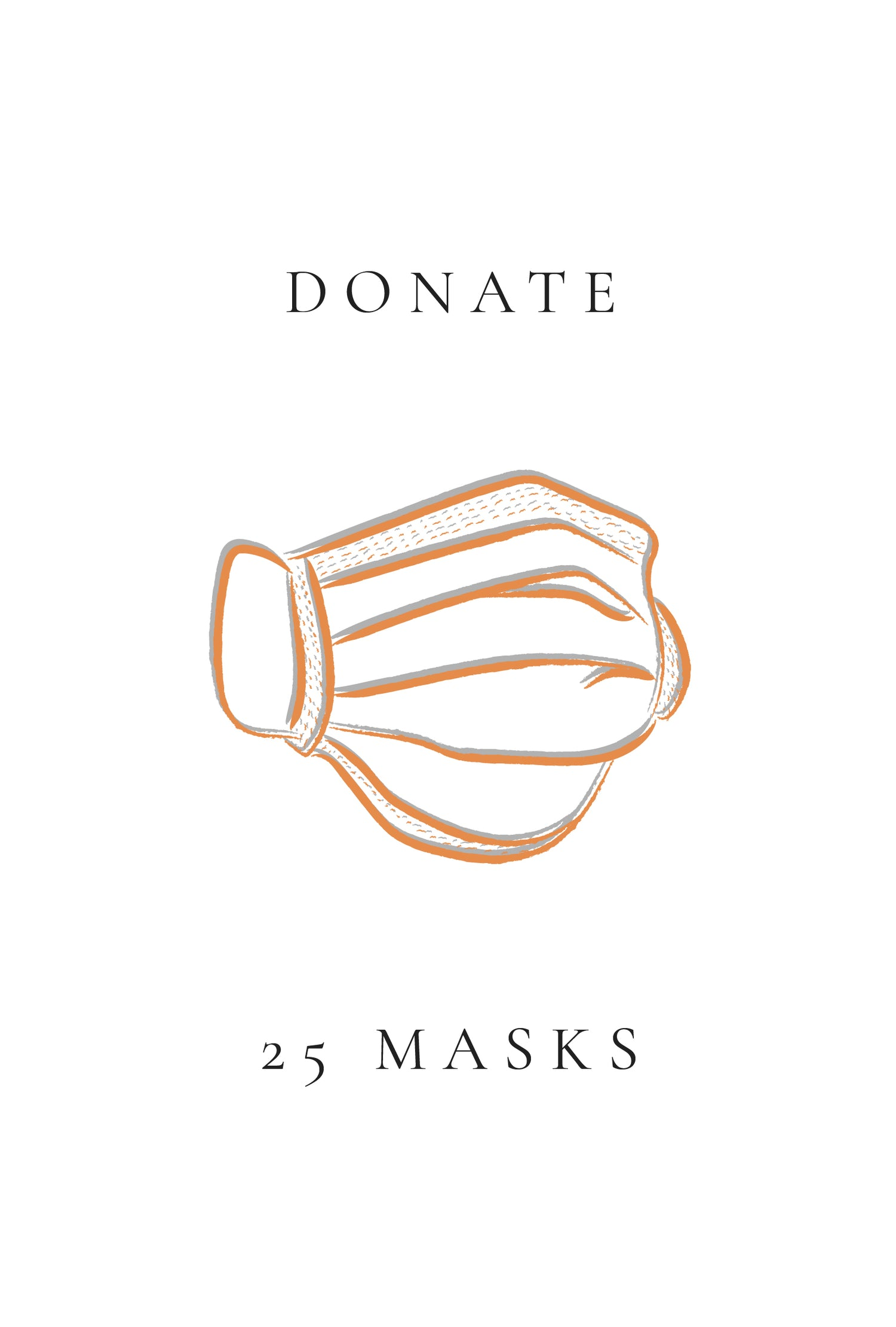 25 Face Mask Donation