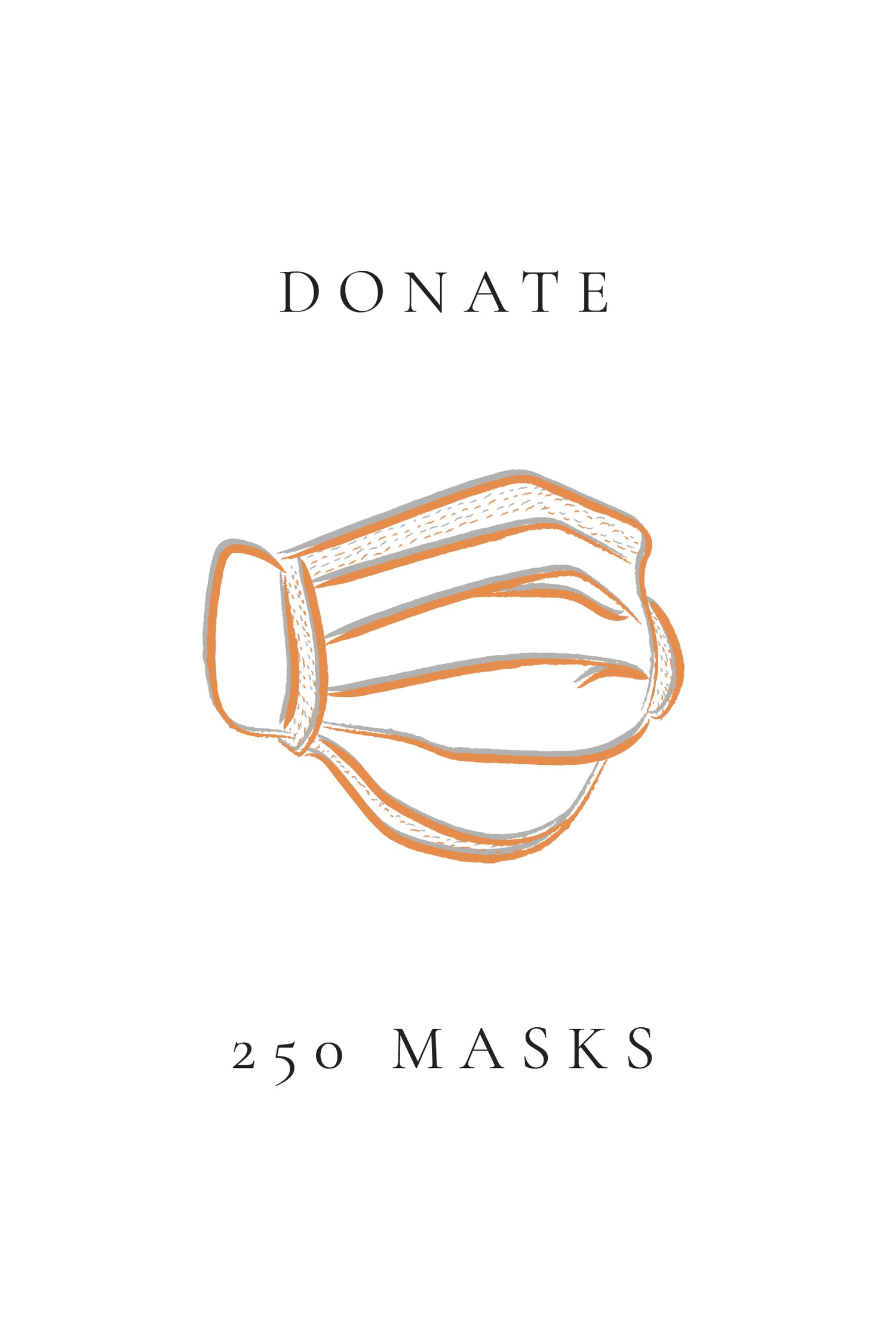 250 Face Masks Donation