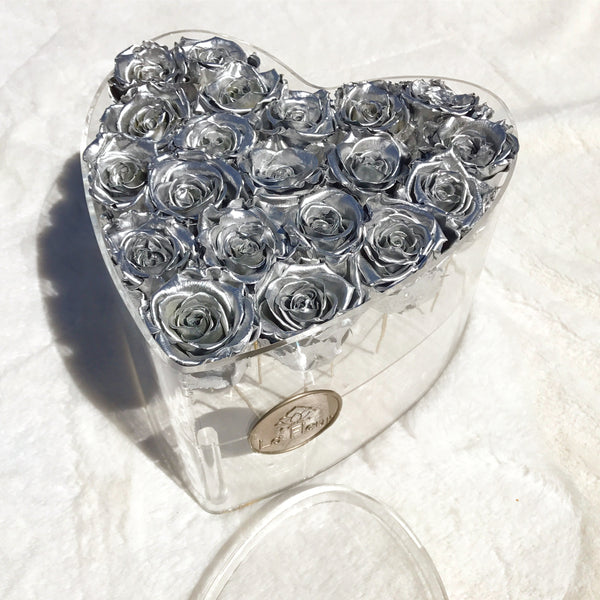 Acrylique Heart - Lasts for Years - La Fleur Bouquets