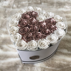 Grande Heart - Lasts for Years - La Fleur Bouquets