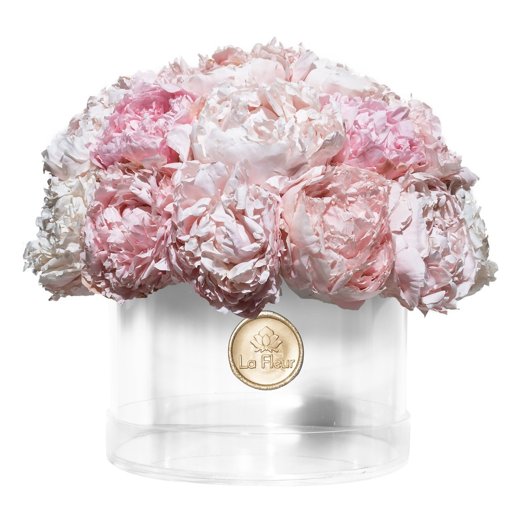Peony Acrylic Dome - Lasts Up To One Year
