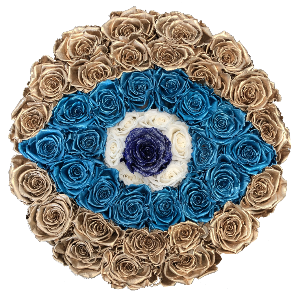Fleurtection- Metallic Evil Eye
