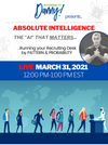 "Non Member Recording: Absolute Intelligence: The ""AI"" That Matters…Running Your Desk by Pattern and Probability"