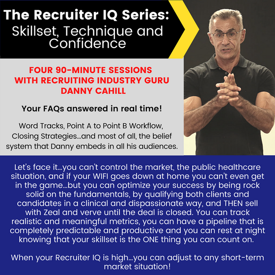 Member Individual Webinar: Recruiter IQ Series Recordings