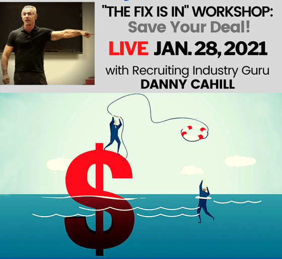 "Member: ""The Fix Is In"" Workshop: Closing Troubled Deals LIVE"