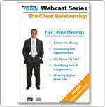 Webcast Series: The Client Relationship