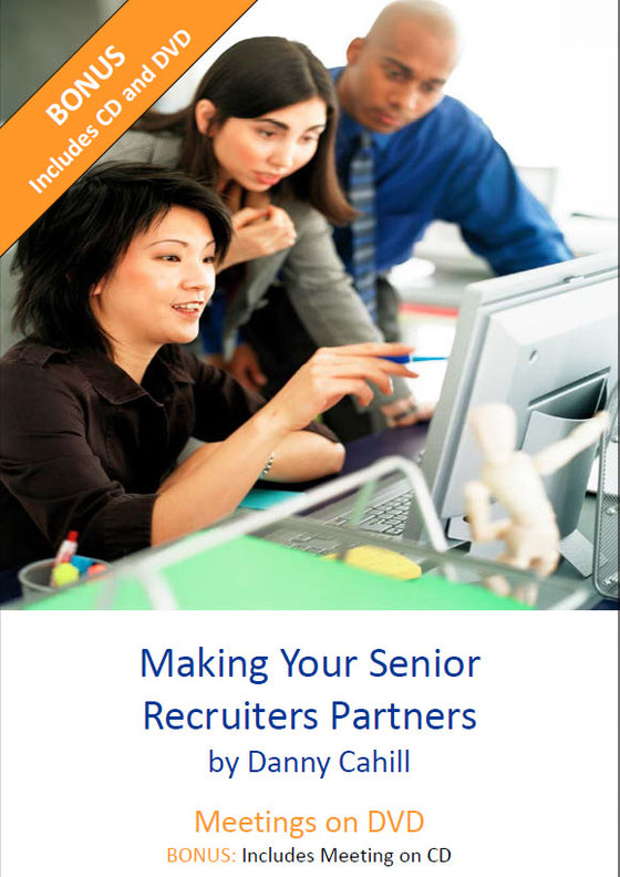Making Your Senior Recruiters Partners