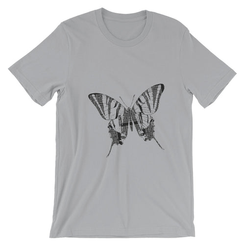 Butterfly Graphic Short-Sleeve Unisex T-Shirt