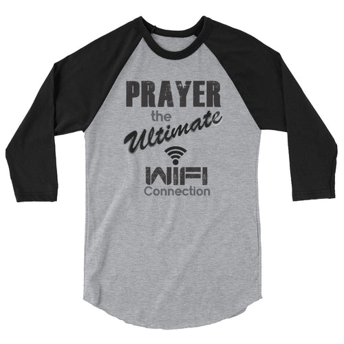 Prayer Wifi 3/4 sleeve raglan shirt