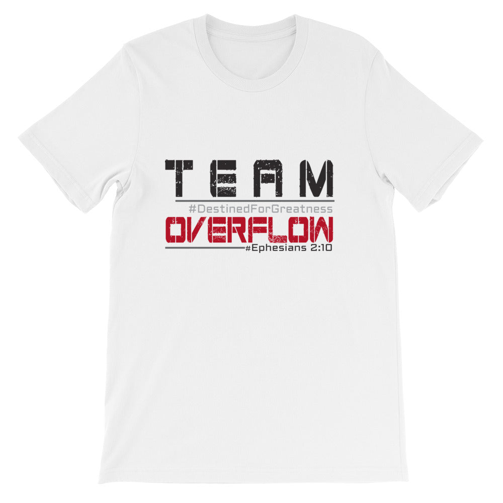 Team Overflow Short-Sleeve Unisex T-Shirt