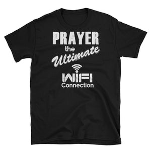 Prayer WiFi Black T-Shirt
