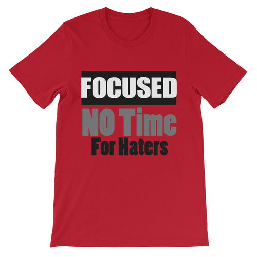 Focused Unisex short sleeve t-shirt