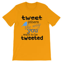 Tweet Unisex short sleeve t-shirt