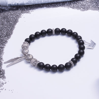Onyx Rose Silver