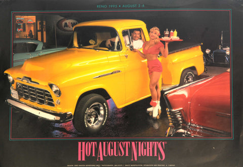 1995 Hot August Nights Event Poster