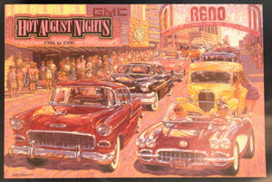 1996 Hot August Nights Event Poster