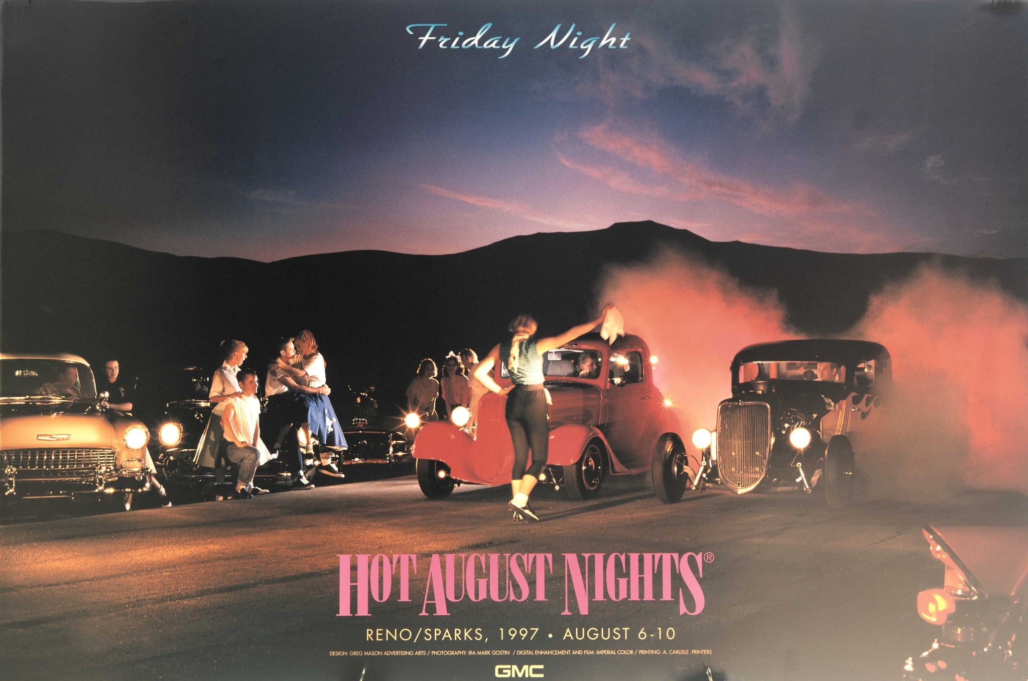1997 Hot August Nights Event Poster