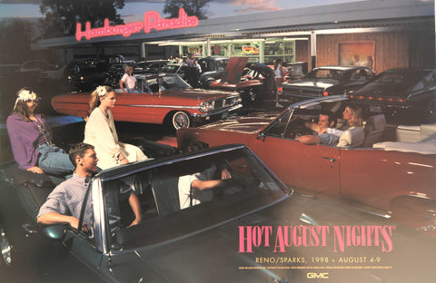 1998 Hot August Nights Event Poster