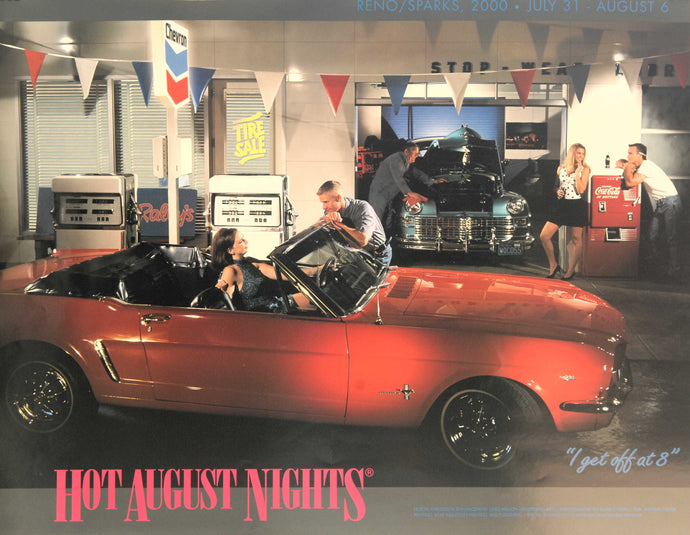 2000 Hot August Nights Event Poster