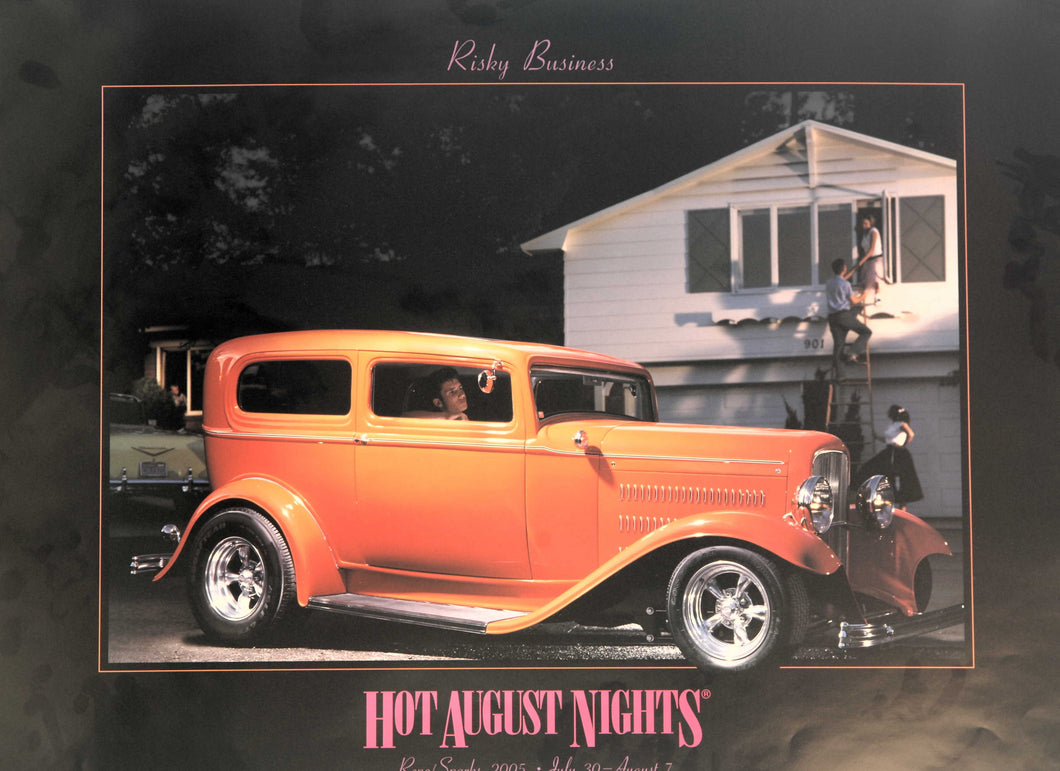 2005 Hot August Nights Event Poster
